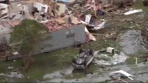 Violent weather tears through southern U.S.
